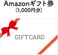 Amazonギフト券(1,000円分)